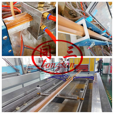 PVC Window And Door Profile Making Extrusion Machine