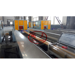India market pvc wpc solid door frame architrave making machine professional turnkey project