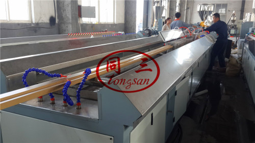 hollow solid wpc door jamb making extrusion machine production line supplier