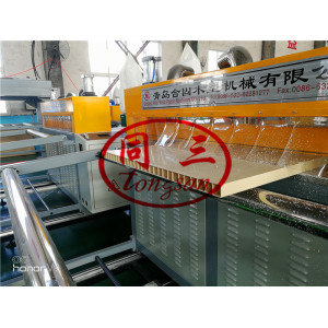 WPC Door Production Line/Plastic PVC Door Manufacturing Machine