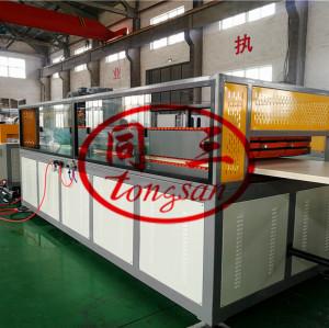 WPC Door Production Line/Plastic PVC Door Manufacturing Machine