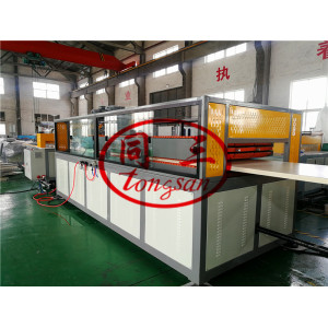 WPC Door Manufacturing Machine with pvc wood material / wpc machine supplier