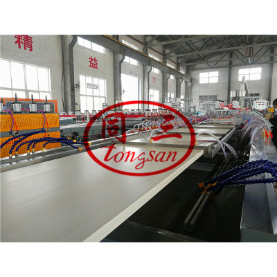 PVC And Wood Composite Hollow Wpc Door Panel Making Machine Price / Wpc Door Extrusion Line