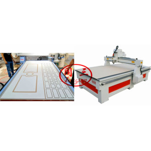 WPC Door Engraving Machine For Making Carving Design On WPC Door Surface