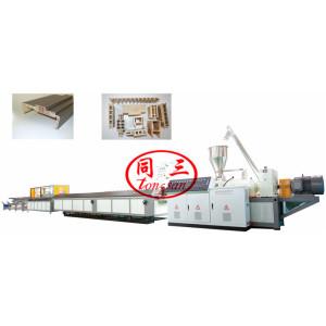 Wood Plastic WPC Door Frame Machine PVC WPC Door Profile Extrusion Line Machine