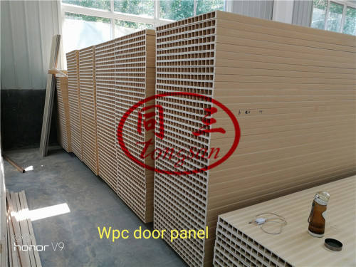 HG-1000 WPC Door Surface Sanding And Polishing Machine WPC Door Making Machine