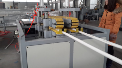 50-160mm Plastic PVC Pipe Extrusion Machine Line For Making Water Pipe