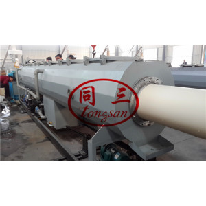 SWR waste water pipe PVC pipe manufacturing machine