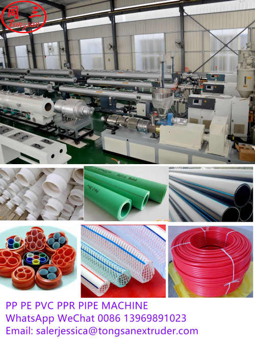 Large Diameter 315-500mm PVC Water Pipe Production Making Machine Line Plastic Pipe Machine