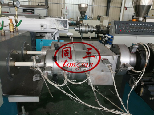 PVC Electric Conduit Pipe Making Machine 16-40mm 2 Cavity Double Output