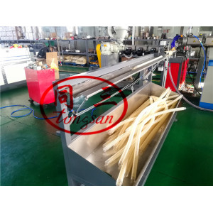 12-50mm PVC Plastic Spiral Reinforced Hose Making Machine For Produce Washing Basin Drainage Hose