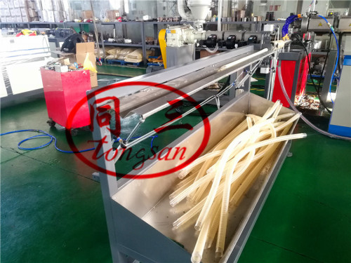 3/4-8 inch Plastic PVC Flexible Spiral Ribbed Suction Exhuast Hose Making Machine Extruder Supplier