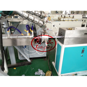 Soft PVC Plastic Rib Spiral Reinforced Pipe Making Machine Production Line