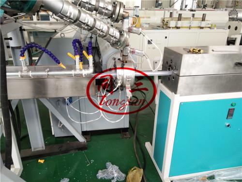 Soft PVC Plastic Rib Spiral Reinforced Pipe Making Machine Production Line