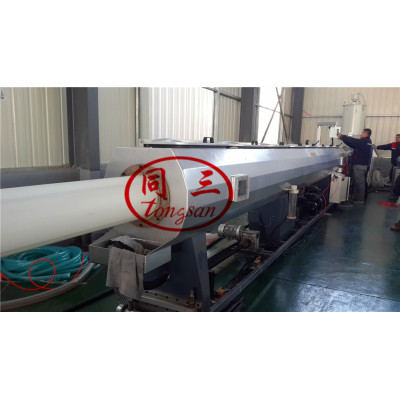 75-250mm HDPE Plastic Water Supplying Pipe Manufacturing Machine