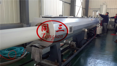 plastic pipe extrusion line making machine