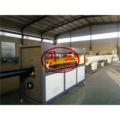 Plastic PVC Sewer Pipe Making Machine for Dark Grey Plastic Pipe
