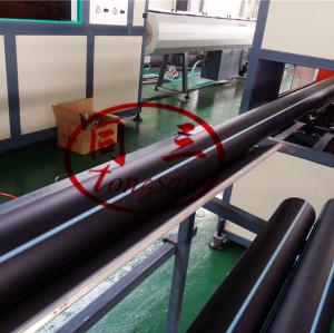 75-250mm HDPE Plastic Water Supplying Pipe Manufacturing Machine