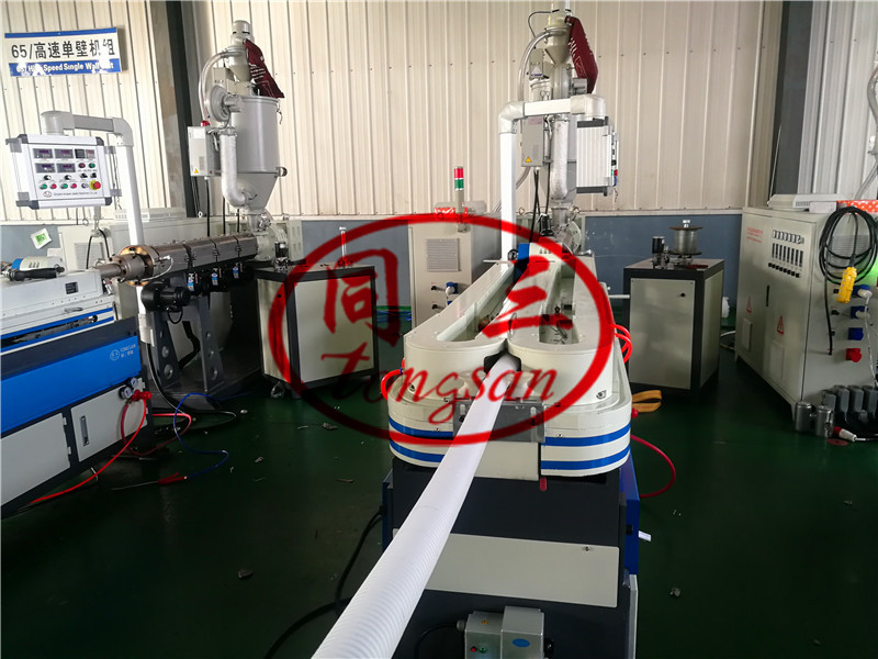 what is the advantage of Tongsan corrugated pipe machine