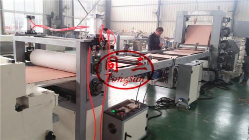 pvc sheet making extruder machine line / pvc sheet production machine