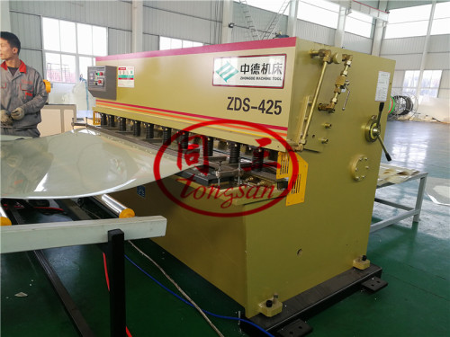 Plastic ABS Sheet Co Extrusion Machine Line For Making ABA Three Layer Plastic Sheet