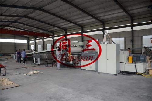 Hot sale 1-20mm PVC free foam sheet board making machine manufacture price for advertisment board