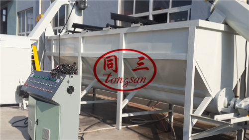 PE PP PET PVC Waste Plastic Film/Bottle Crushing Washing Recycling Machine
