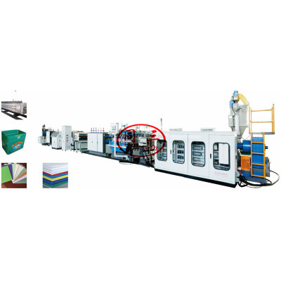 Pp Hollow Corrugated Sheet Making Machine/Pp Sheet Production Line/Extruder From China