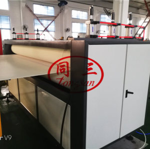 Professional and cheap PP corrugated sheet extrusion line for making twin wall PP sheet machine