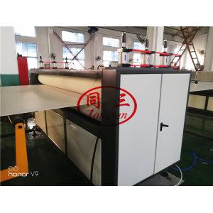 pp corrugated hollow fish box/fruit box/packing box making machine
