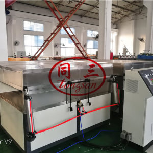 pp corrugated hollow fish box/fruit box/packing box making machine