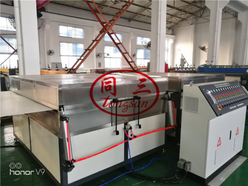 Coroplast Manufacturing Machine Extrusion Printing Cutting Welding