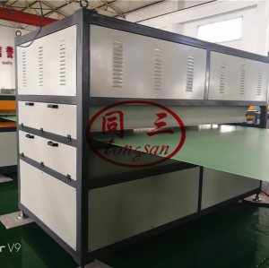 PP plastic Coroplast sheet corrugated hollow board making machine