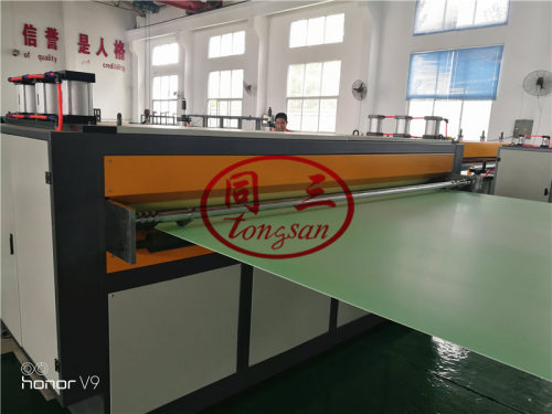 High Quality Pp Plastic Hollow Gird Plate Making Machine/Pp Hollow Extrusion Plastic Machine Line