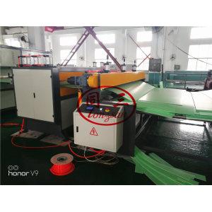 PP plastic Coroplast sheet corrugated hollow board making machine