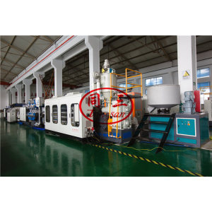 PP Corrugated Hollow Sheet Extrusion Production Line / PP Sheet Extruder