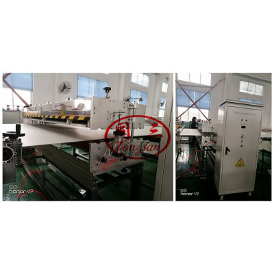 1220-2800 mm Plastic Pp Hollow Sheet Making Machine/Extrusion Line/Pc Roof Sheet Making Machine