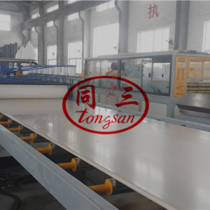 High quality PVC WPC celuka foam board making machine