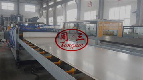 wpc machine for the production of furniture board/ WPC foam board making machine