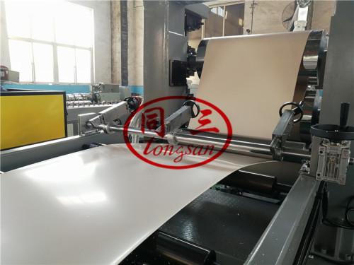 Edge Banding Making Machine for Furniture Table Door Board /pvc strip edge banding tape making machine