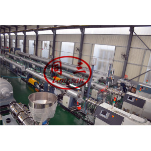 PE HDPE Pipe Producing Machine with Coiling Machine