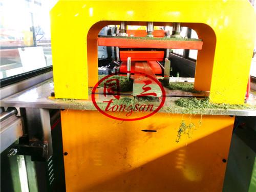 plastic LDPE HDPE foam profile making extruder machine extrusion line