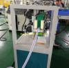 pvc fiber reinforced pvc hose making machine for our Nigeria customer to make garden hose