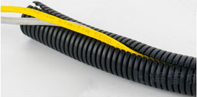 What is the material of the wire harness corrugated pipe ? (wire harness corrugated pipe machine)