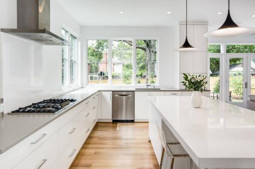 Proyecto de gabinetes de cocina para fabricantes con ideas de pintura
