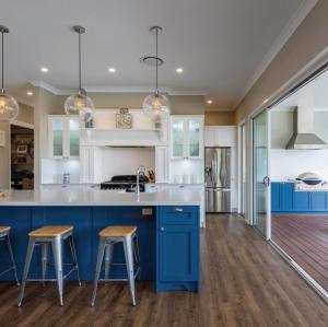 خزانة المطبخ والأفكار الأساسية كونترتوب مع أبعاد مخصصة
