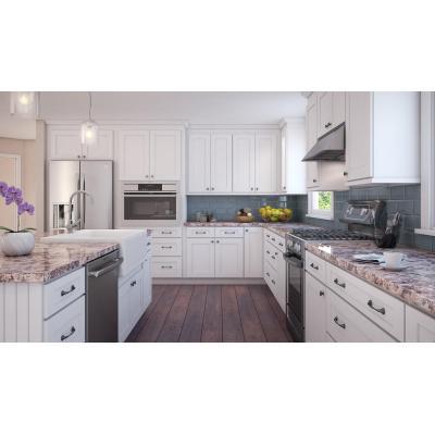 Mueble de cocina agitador clásico de estilo americano con diseño de isla