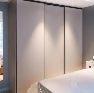 الخشب الرقائقي الحديثة تصميم باب خزانة الملابس لغرفة النوم
