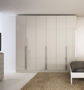Modern plywood wardrobe in bedroom cabinet for sale