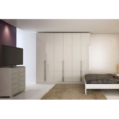 Armario moderno de madera contrachapada en gabinete de dormitorio en venta